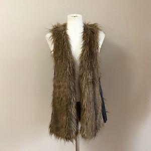 Vivienne Tam faux fur vest
